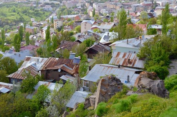 Part of the old town, Sebinkarahisar.