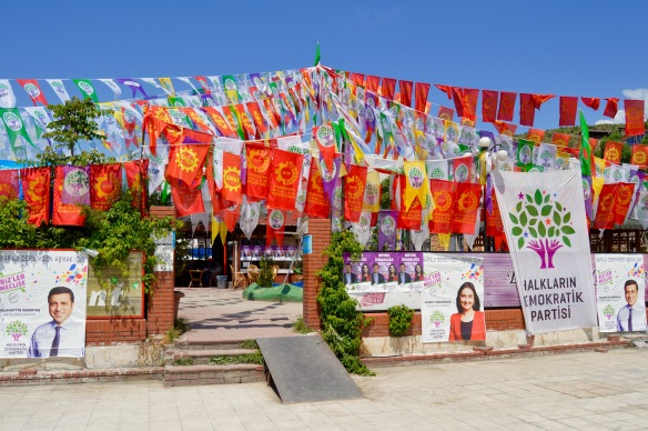 The HDP headquarters, Tunceli.